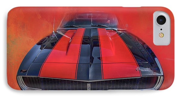 Camaro - Forged By Fire IPhone Case by Theresa Tahara