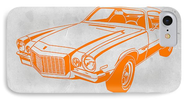 Camaro IPhone Case by Naxart Studio