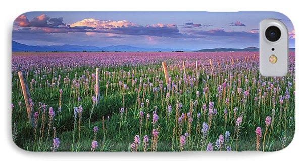 Camas Prairie IPhone Case by Leland D Howard