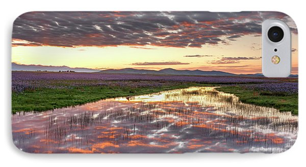 IPhone Case featuring the photograph Camas Spring Sunrise by Leland D Howard