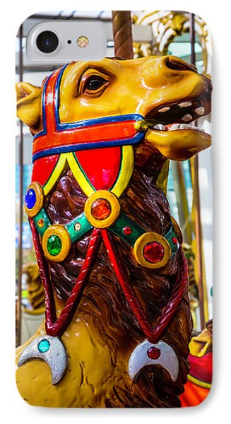 Camel Carrousel Ride IPhone Case by Garry Gay