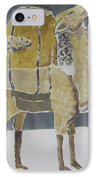 Camel Facing Right IPhone Case