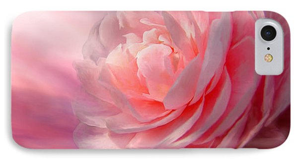 Camellia Phone Case by Carol Cavalaris