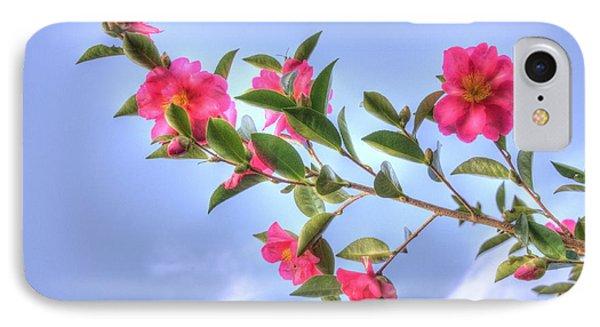 Camellia IPhone Case by Elaine Teague