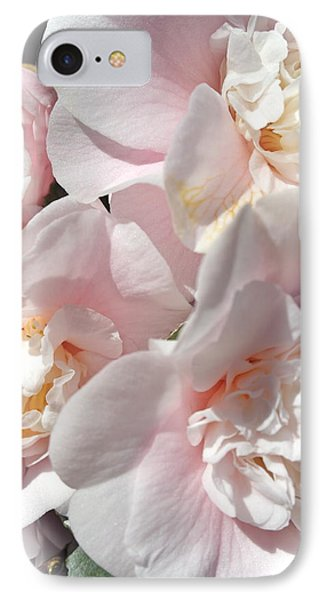 Camellias Softly IPhone Case by Michele Myers