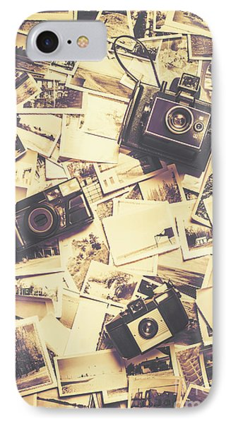 Cameras On A Visual Storyboard IPhone Case by Jorgo Photography - Wall Art Gallery