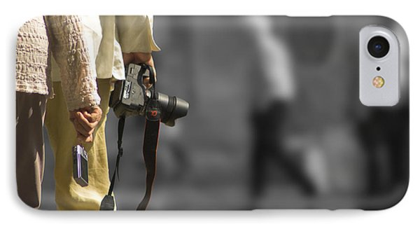 Cameras Unholstered IPhone Case by Hazy Apple