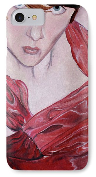 IPhone Case featuring the painting Cami by Jane Autry