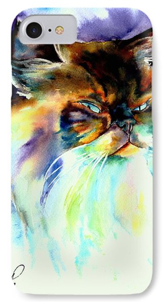 IPhone Case featuring the painting Camille by Christy Freeman