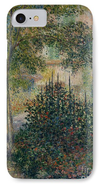 Camille Monet In The Garden At Argenteuil, 1876 IPhone Case