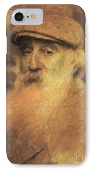 Camille Pissaro, Artist By Mary Bassett IPhone Case by Mary Bassett