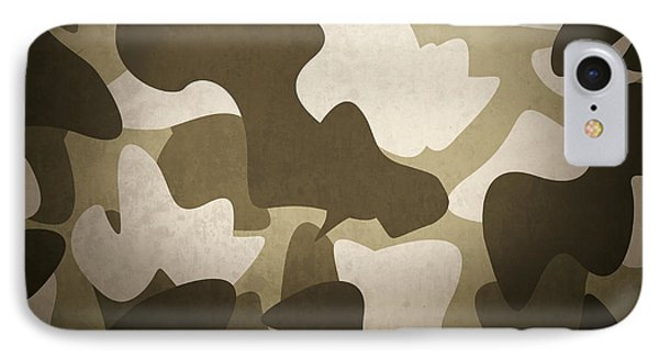 Camouflage Military Interior Background IPhone Case