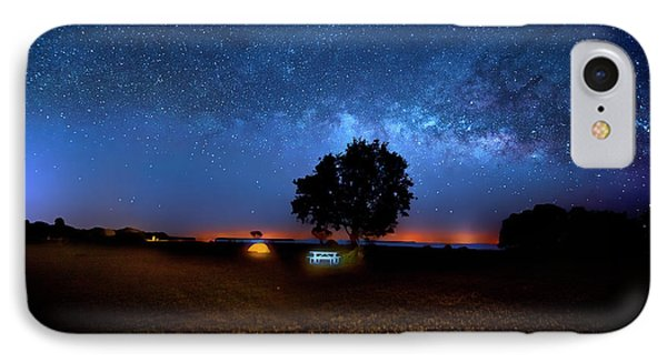 IPhone Case featuring the photograph Camp Milky Way by Mark Andrew Thomas