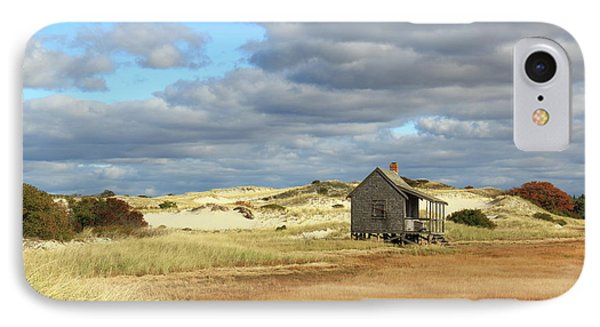 IPhone Case featuring the photograph Camp On The Marsh And Dunes by Roupen  Baker