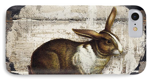 Campagne Iv Rabbit Farm IPhone Case by Mindy Sommers