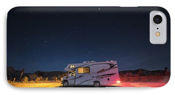Camper Under A Night Sky IPhone Case