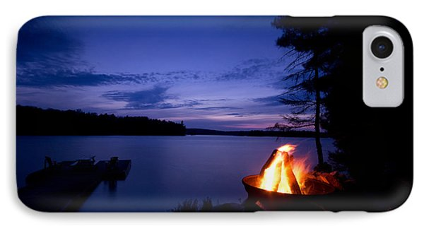 Campfire IPhone Case by Cale Best
