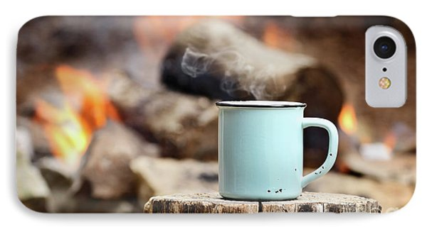 Campfire Coffee IPhone Case