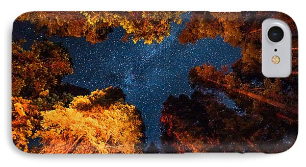 Camping Under The Stars  IPhone Case