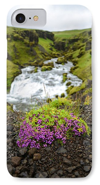 Campion On The Fimmvorduhals IPhone Case