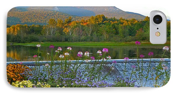 Campton Pond Campton New Hampshire IPhone Case by Nancy Griswold