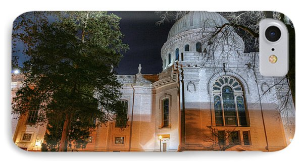 Campus Nights IPhone Case by JC Findley