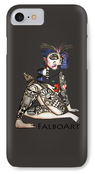 Can You See Me Know IPhone Case by Anthony Falbo