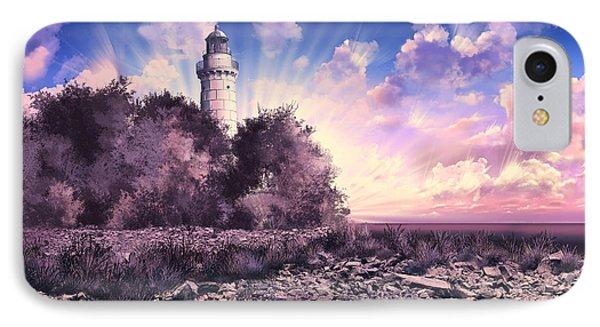Cana Island Lighthouse IPhone Case