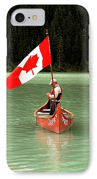 IPhone Case featuring the photograph Canada Day... by Al Fritz