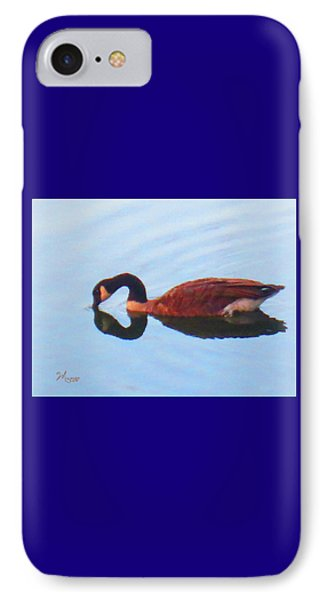 Canada Goose On Clear Lake IPhone Case