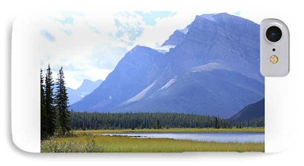 Canadian Mountains IPhone Case