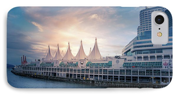 Canada Place IPhone Case by Art Spectrum