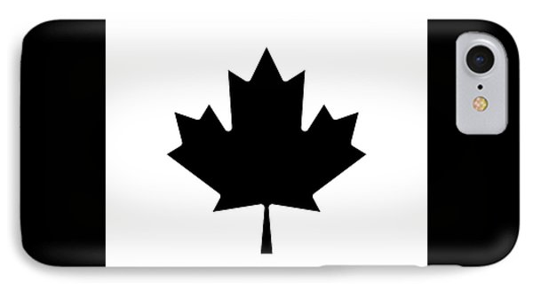 IPhone Case featuring the photograph Canada Round Beach Towel In Black by Pierre Leclerc Photography