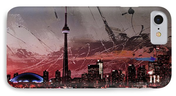 Canada- Toronto 01a IPhone Case by Gull G