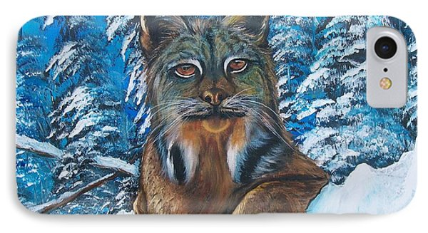 Canadian Lynx IPhone Case by Sharon Duguay