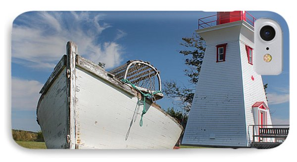 Canadian Maritimes Lighthouse IPhone Case by Wilko Van de Kamp