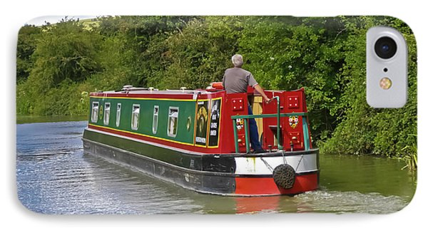 Canal Boat Phone Case by Terri Waters
