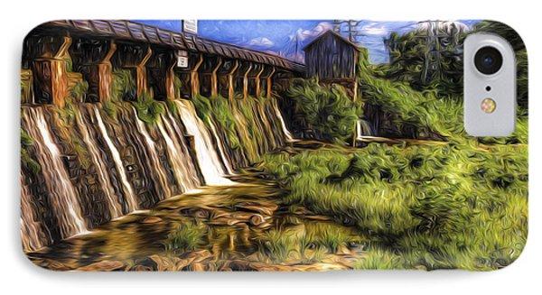 Canal Dam IPhone Case