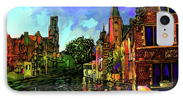 Canal In Bruges IPhone Case