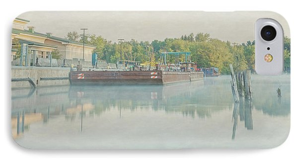 IPhone Case featuring the photograph Canal In Pastels by Everet Regal