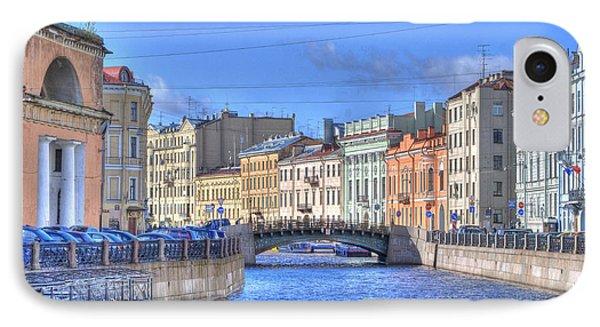 Canal In St. Petersburgh Russia IPhone Case by Juli Scalzi