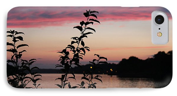 Canal Sunset IPhone Case by Shirley Doud