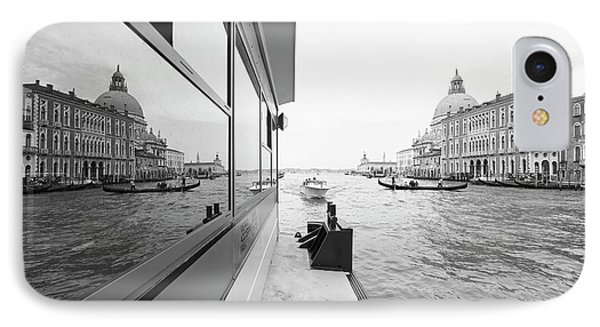 Canale Riflesso IPhone Case by Marco Missiaja