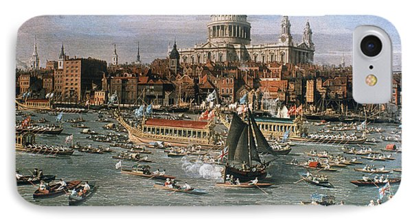 Canaletto: Thames, 18th C Phone Case by Granger