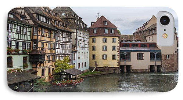 Canals Of Strasbourg IPhone Case by Yefim Bam
