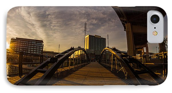 IPhone Case featuring the photograph Canalside Dawn No 5 by Chris Bordeleau