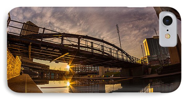 IPhone Case featuring the photograph Canalside Dawn No 6 by Chris Bordeleau