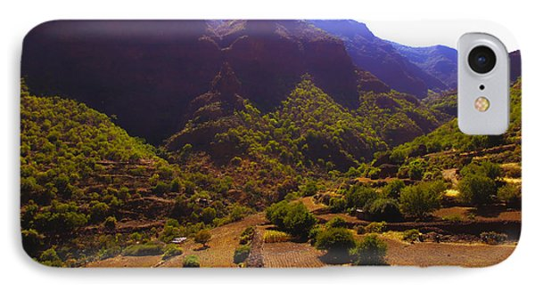 Canarian Agriculture IPhone Case by Andrew Middleton