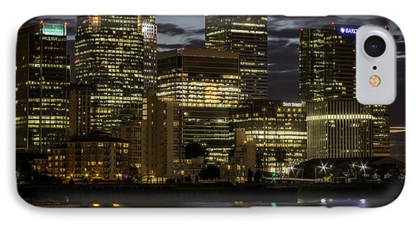 IPhone Case featuring the photograph Canary Wharf by Ryan Photography
