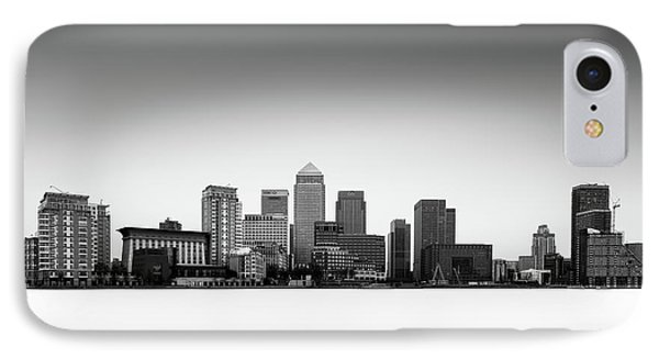 Canary Wharf Skyline IPhone 7 Case by Ivo Kerssemakers